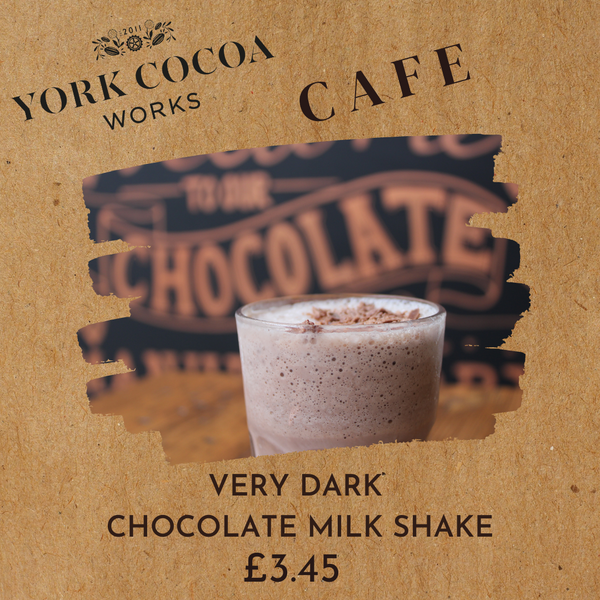 Very Dark Chocolate Milk Shake - Cafe