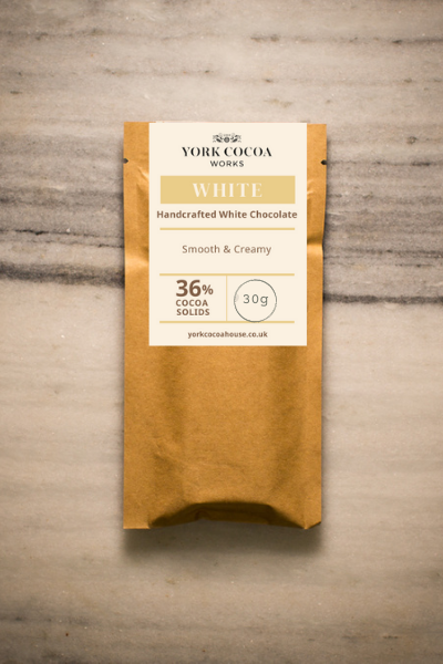 36% White Chocolate - 30g Bar