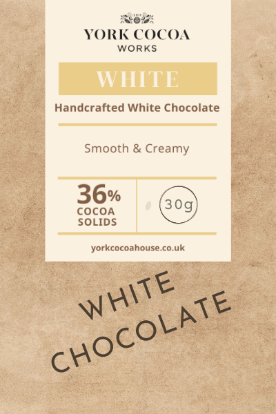 36% White Chocolate - 30g Bar - Case of 20