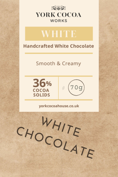 36% White Chocolate - 70g Bar - Case of 10
