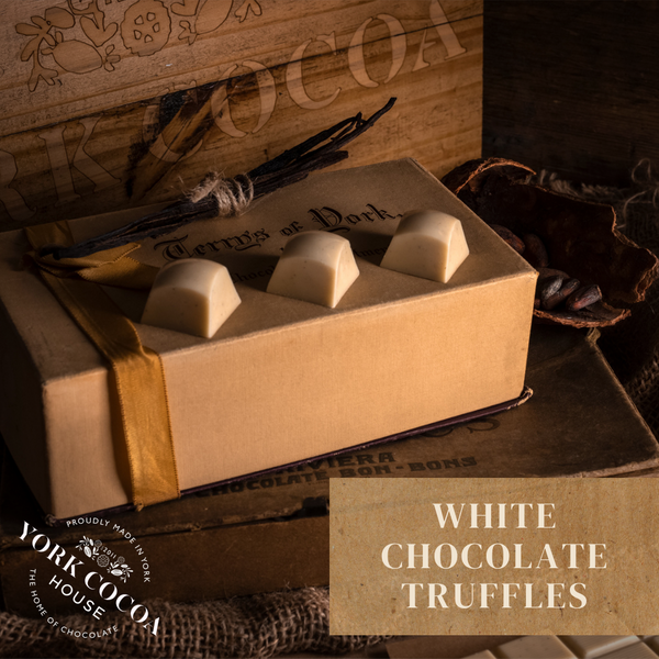 White Chocolate Truffles - Large Box x 48 Truffles