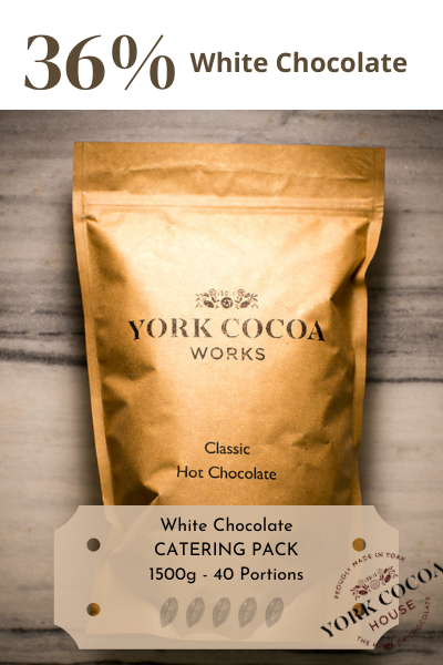 White Hot Chocolate - 1.5kg Catering Pack