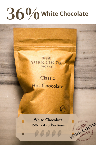 White Hot Chocolate - 150g Packet - Case of 10