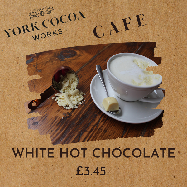 White Hot Chocolate - Cafe