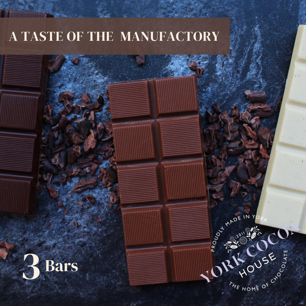 A Taste of the Manufactory - 3 Bar Set (White, Milk and Dark)