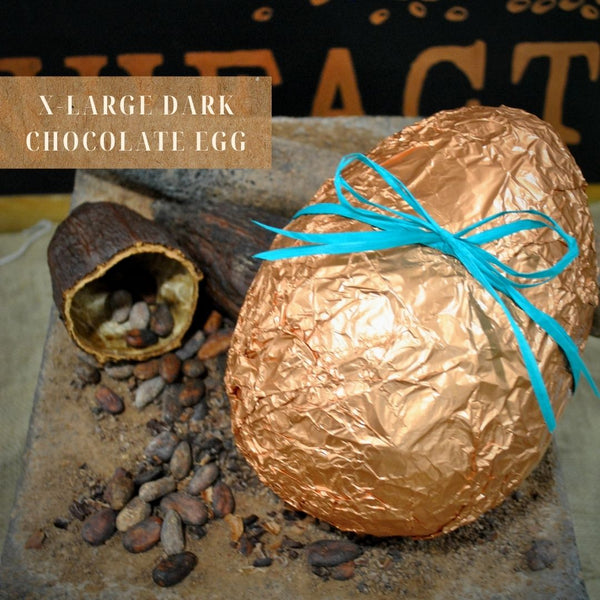 Extra Large 1kg Dark Chocolate Egg in Gift Box