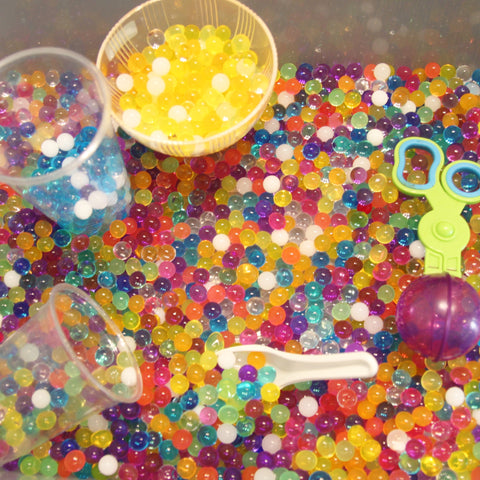 2. Water beads collection