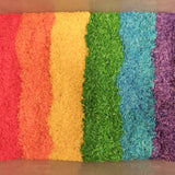 Homemade rainbow rice