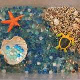 Ocean water beads play set