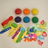 Diddle dough play set
