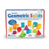 Learning Resources Geometric Solids (14 colored)