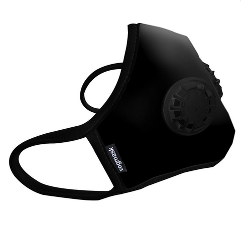 BLACK VOGMASK TWO VALVES - Black N99C2V Organic