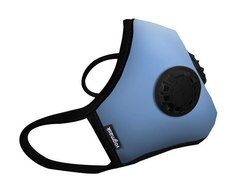 Blue Organic Vogmask - Double Valve - FPP2 - pollution mask