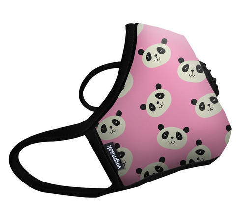 Vogmask Europe Dust Mask Pink Panda - N99 - Reusable Filtering Mask