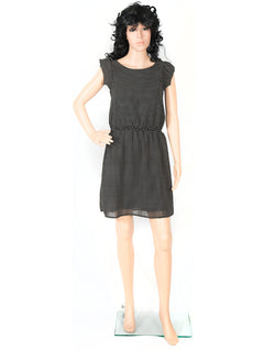 Black Mid Thigh Womens Dress
