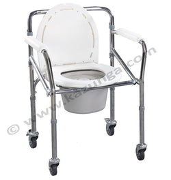Commode Wheel Chair on Rent