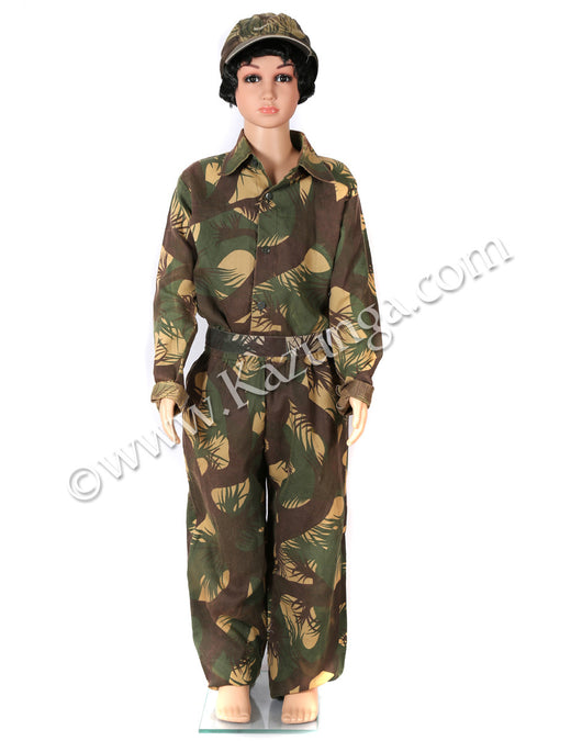 Kids Army Costume on Rent