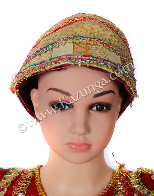 kids light colored traditional cap