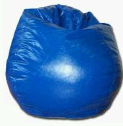 Blue Bean Bag on Rent