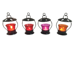 Candle Lights on Rent (Pack of 4 - With Frame)