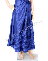 Beautiful Blue Party Wear Gowns on Rent
