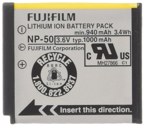 Fujifilm NP-50 Lithium Ion Rechargeable Battery for Fuji F60fd, F50fd & F100fd Digital Cameras