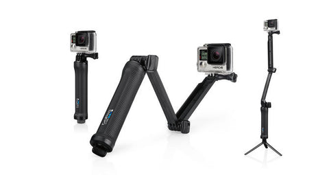 GoPro 3 Way Mount - Grip/Arm/Tripod