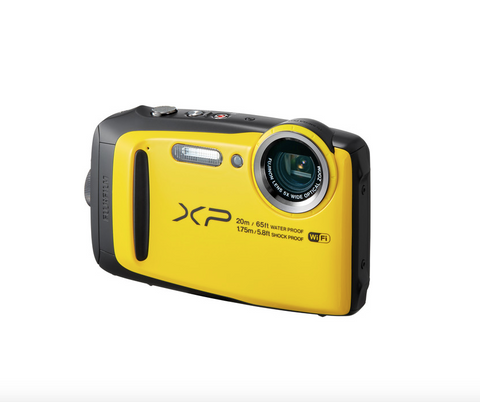 Fujifilm FinePix XP120 Digital Camera (Yellow)