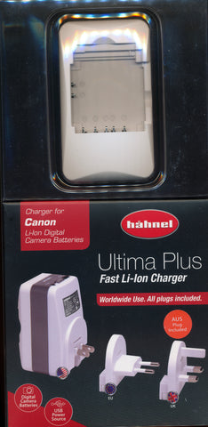 Hahnel Ultima 11 for Canon Camera Battery charger.