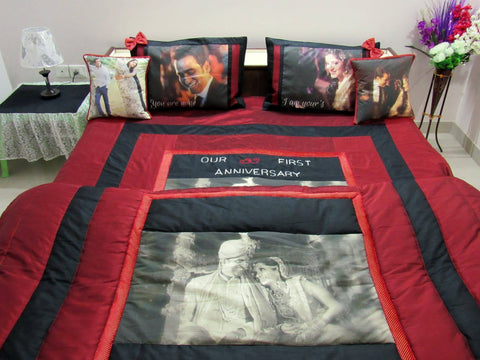 Perfect Personalized Photo Printed Comforter