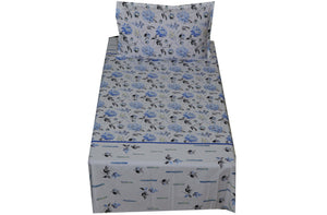 Fabby Home  Cotton Single Bedsheet