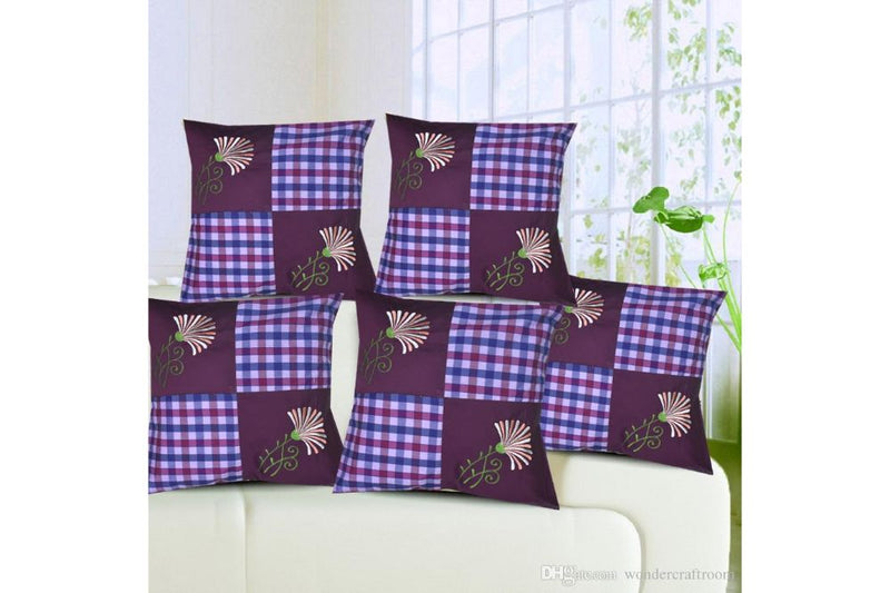 Royal Cushion. Covers(Set of 5)