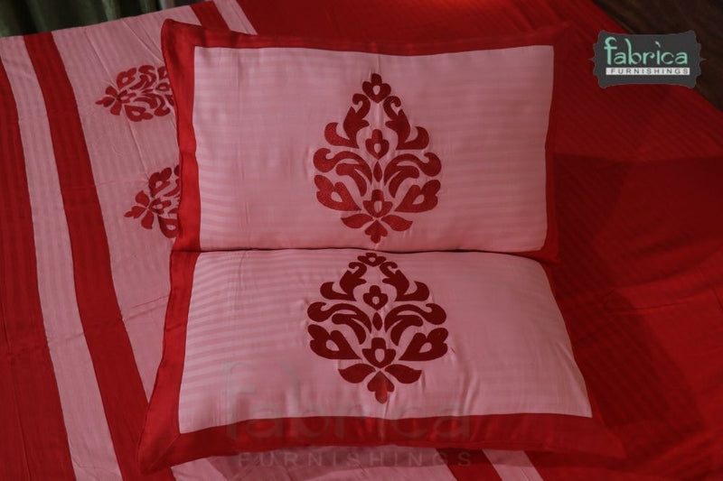 Royal Designer Embroider king Size Bed Sheets