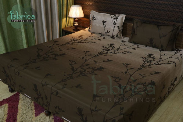 Decor classic Print Cotton Double Bed Queen Size Bed Sheets