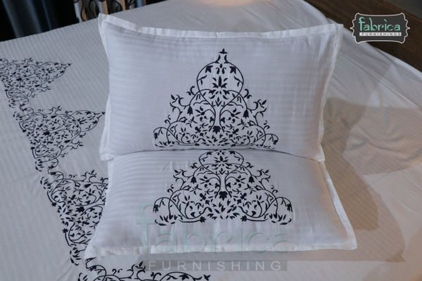 Decor Classic Embroider Cotton Designer King Size Bed Sheets