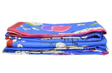 Cotton Cartoon Print Bright Single Duvet Cover Pair