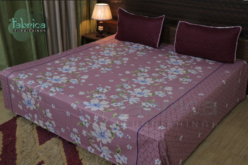Decor Classic Print Cotton Double Bed King Size Bed Sheets