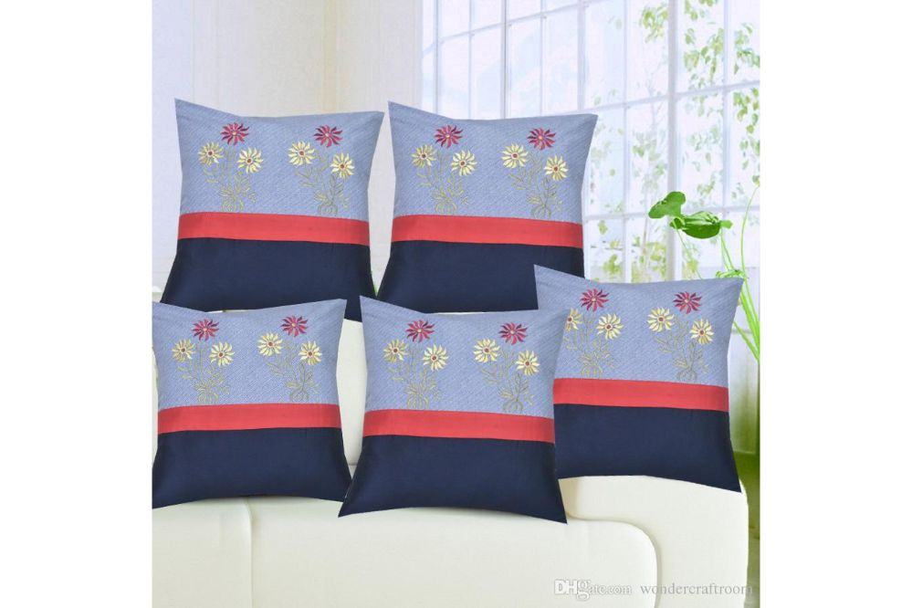 Anita's Royal Cushion. Covers(Set of 5)