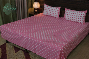 Decor classic Printed Cotton Designer Double Bedsheet (Queen Size)