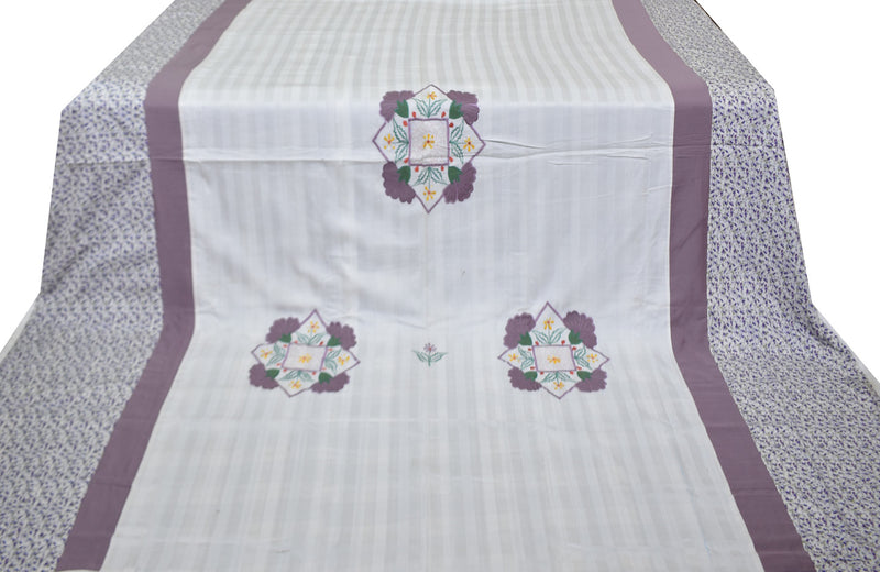 Pure Cotton Soothing Double Embroidery Duvet Cover