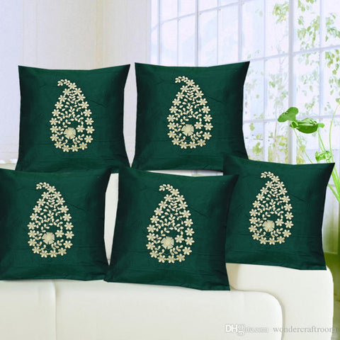 Anita's Royal  Cushion Covers(Set of 5).
