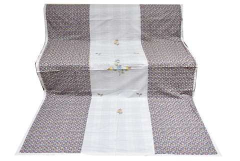 Fabby Soothing Embroider Single Duvet Covers Pair