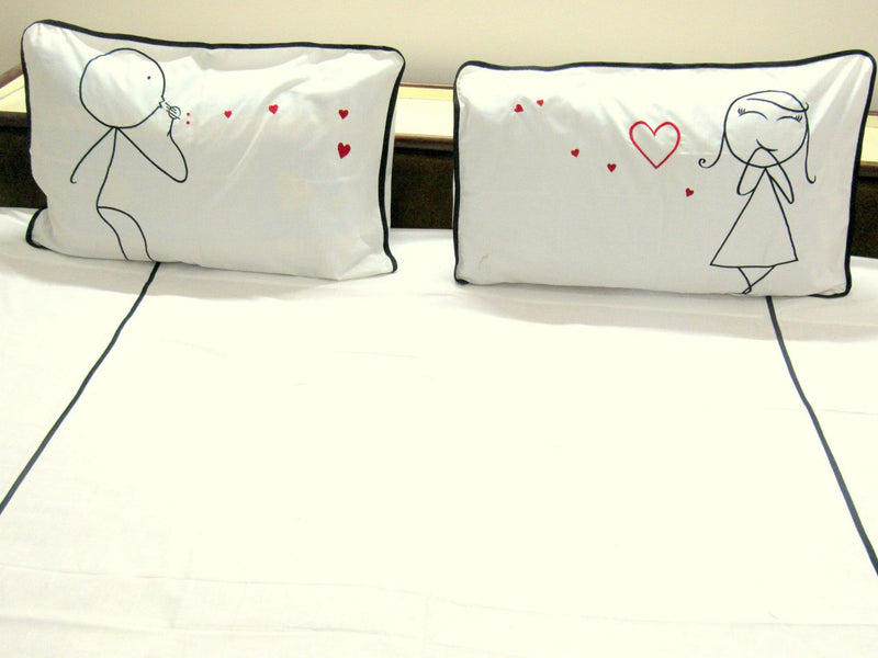 Talking Love Pillow Cover Pair only