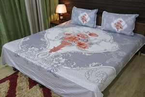 Designer Print Cotton Double Bedsheet collections