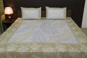 Decor Designer Print Cotton Double Bedsheet