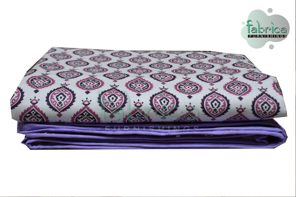 Pure Cotton Soothing Single AC Duvet Covers Pair (TEHAR)
