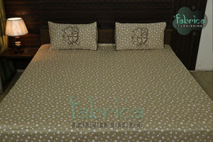 Decor classic Printed Cotton Designer Bedsheet