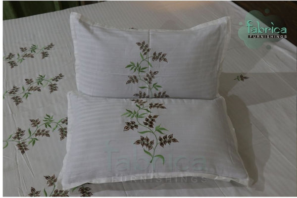 Decor Designer Embroidered Cotton king Size Bed Sheets