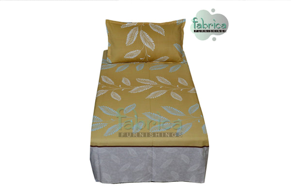 Fabby Home Cotton Single Bed Sheet