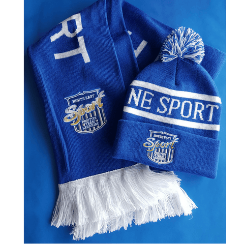 North East Sport Hat And Scarf Set